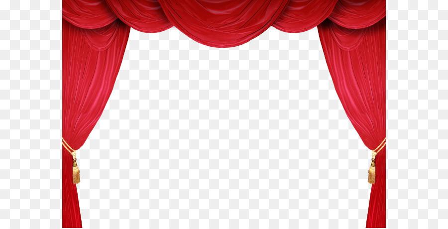 Théâtre des rideaux et rideaux de scène Cinéma Royalty-free - Peint ...