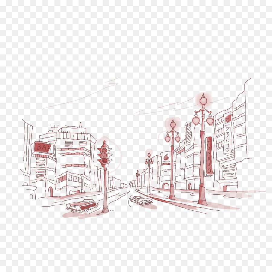 Drawing wallpaper free city road lines decorative material png drawing wallpaper free city road lines decorative material ccuart Image collections