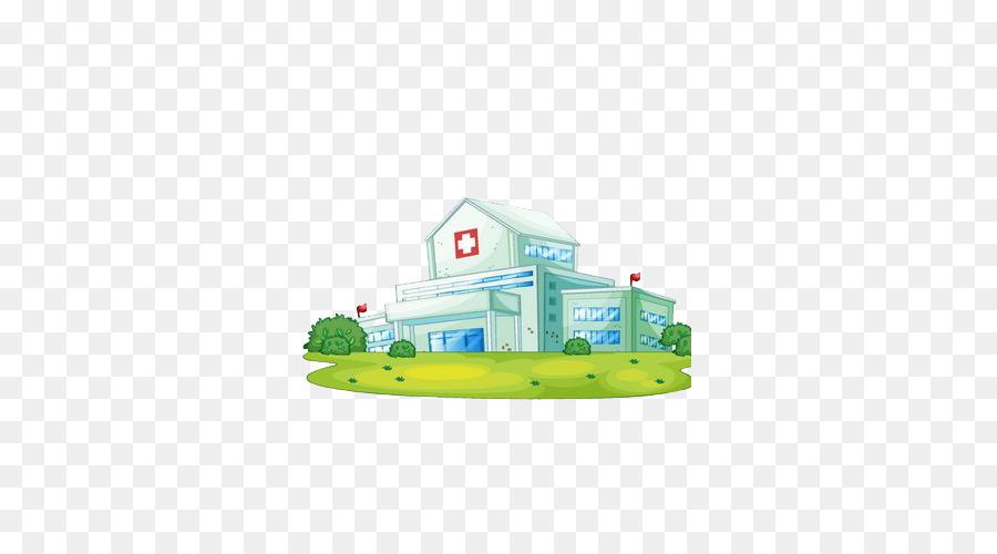 Edificio Del Hospital De Medicina - casa Formatos De Archivo De ...