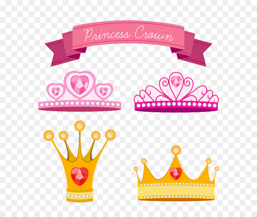 Veliaht Kraliyet Ailesi Prenses Taç Boyalı Png Indir 800747