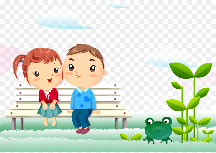 Animation Cartoon Couple Love Wallpaper