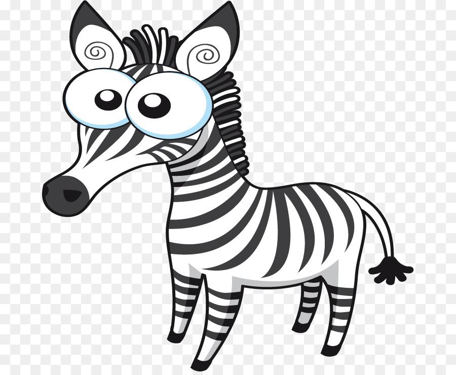 Quagga León Cebra Clip art - Cartoon Zebra Vector Formatos De ...