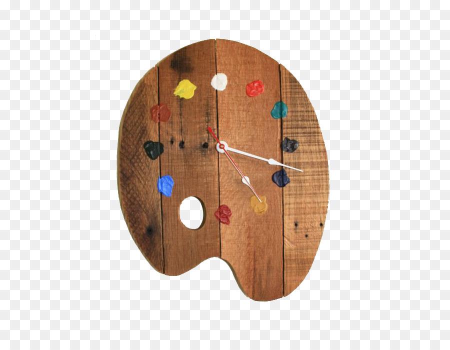 Pendulum Clock Wall Do It Yourself Wood Palette