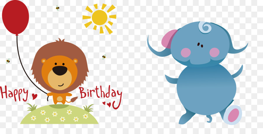 Happy birthday to you greeting card clip art elephants draw happy birthday to you greeting card clip art elephants draw children draw pictures m4hsunfo
