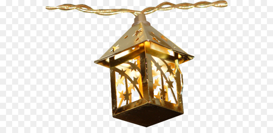 Street Light Lantern Clip Art Cartoon Painted Gold Star Lights