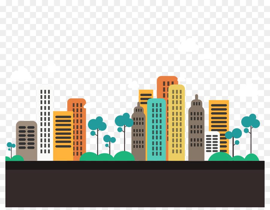 Gandhinagar Abstract City Apartment Flat Design City 864