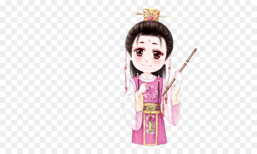 Q-version Paper Cartoon Dai Wo Zou Seishitsu - Child png download