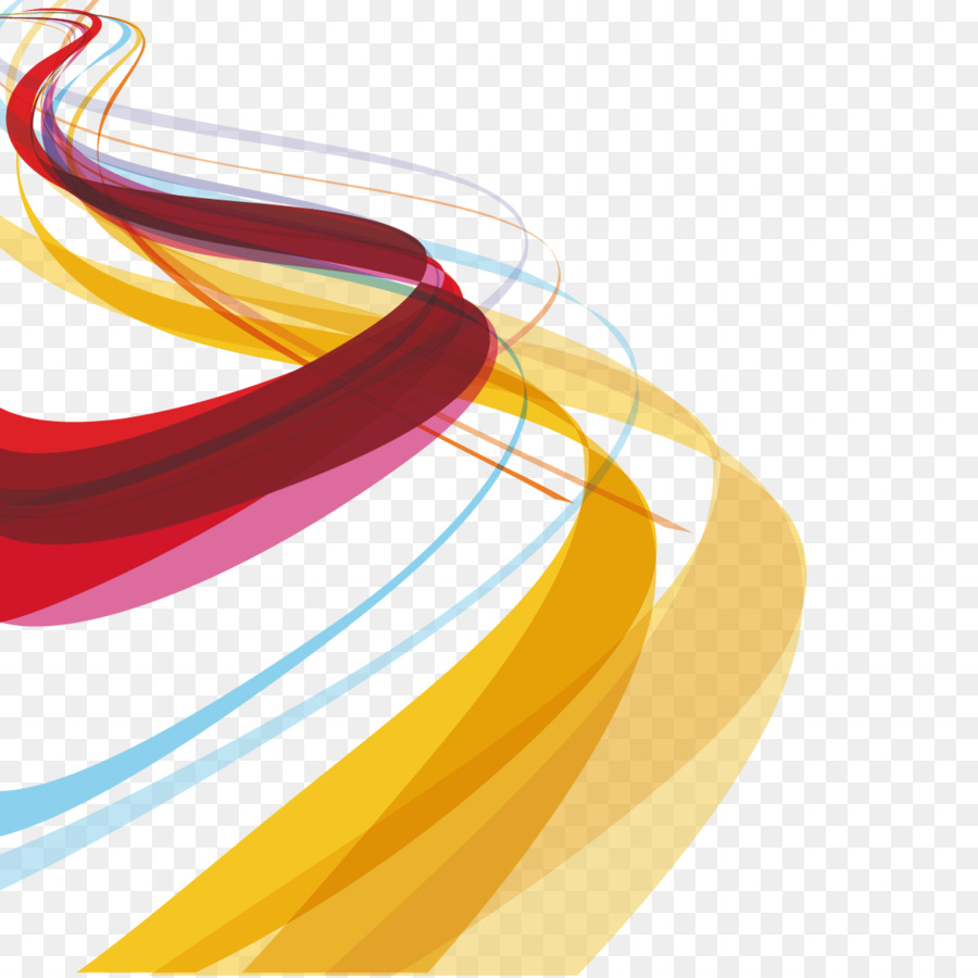 Color Line Design : Color curve graphic design vector curves and wavy lines