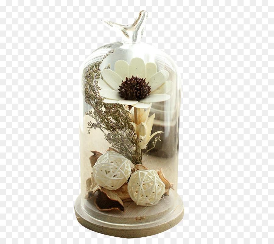 Glass Vase Bell Shaped Vase Material Png Download 800800 Free
