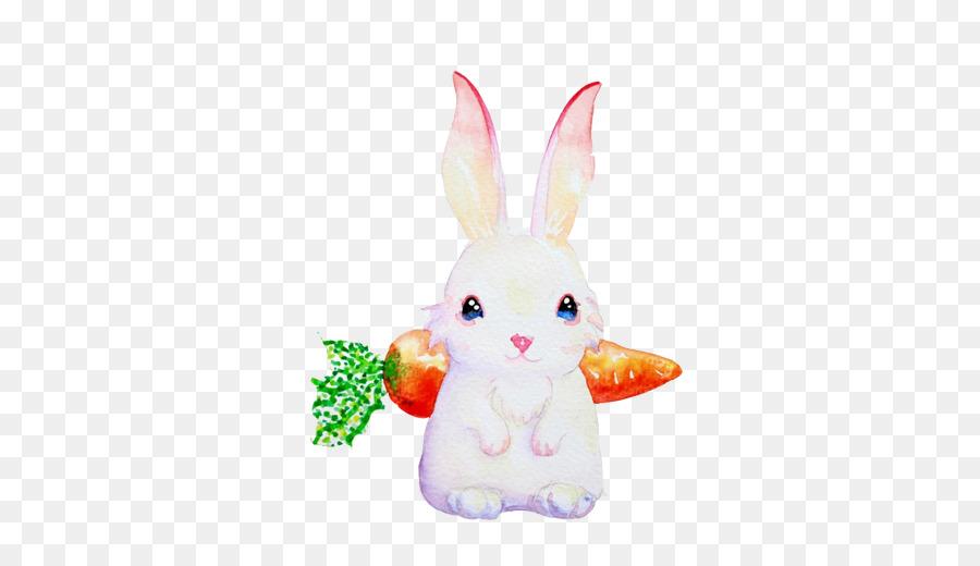 Avrupa Tavşan Boyama Tavşan Geri Yaratıcı Görüntü Havuç Png Indir
