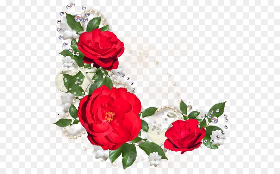 La Flor Roja De La Fotografía De Ilustración - Hojas de color verde ...