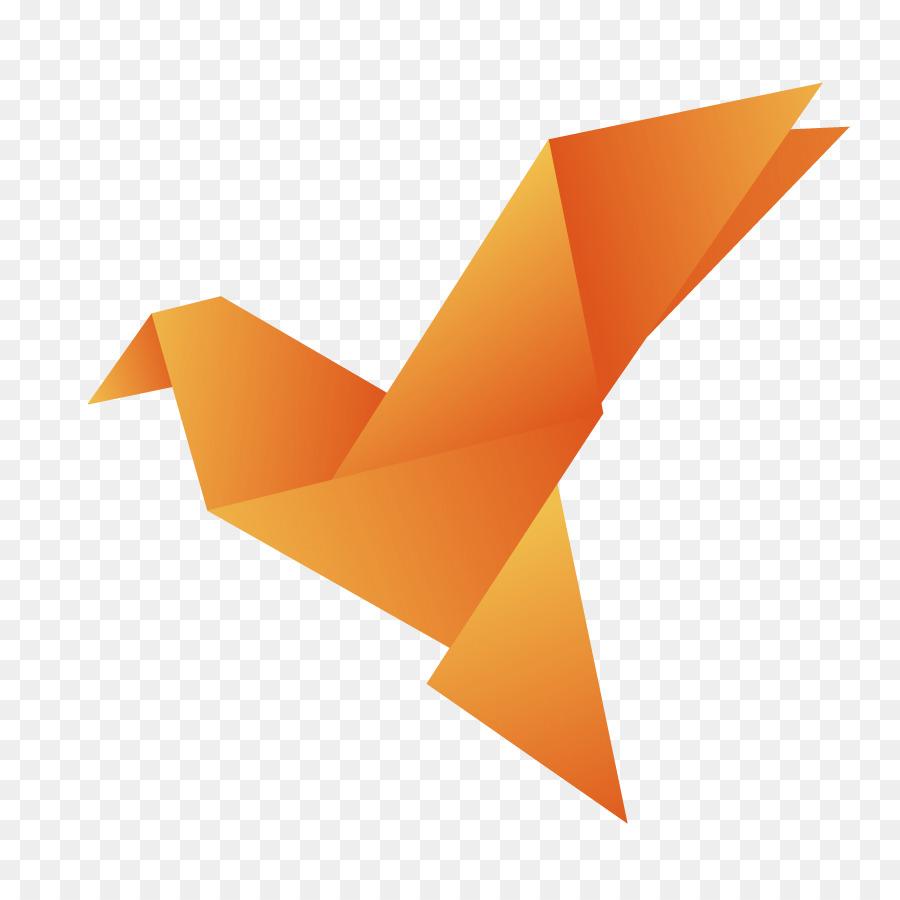 Crane Origami Paper Orizuru Paper Cranes Png Download 886886