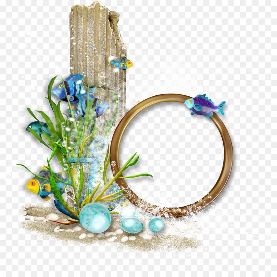 Picture Frame Clip Art Ocean Wind Flower Frame Png Download 3269