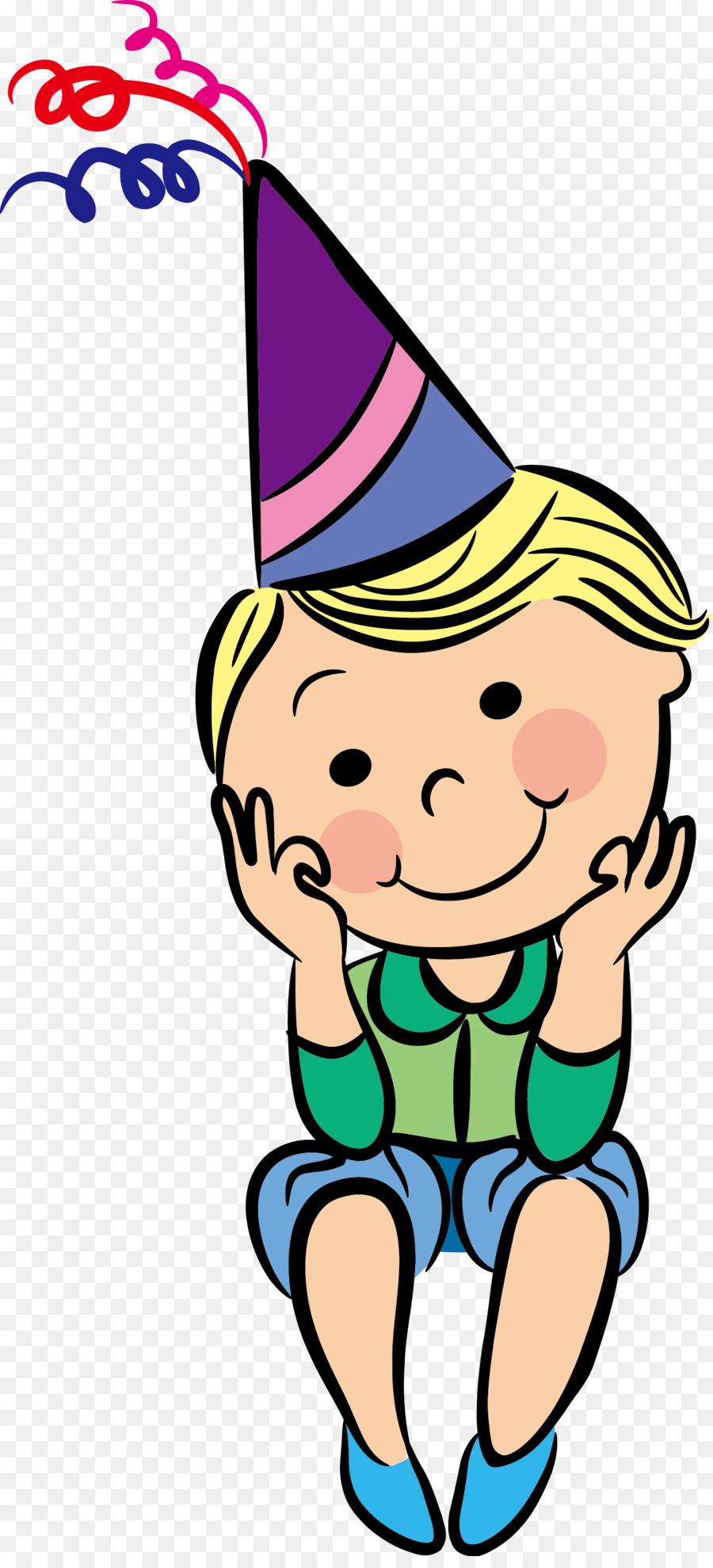 Cartoon Geburtstag Vektor Kind Geburtstag Png Herunterladen 1395