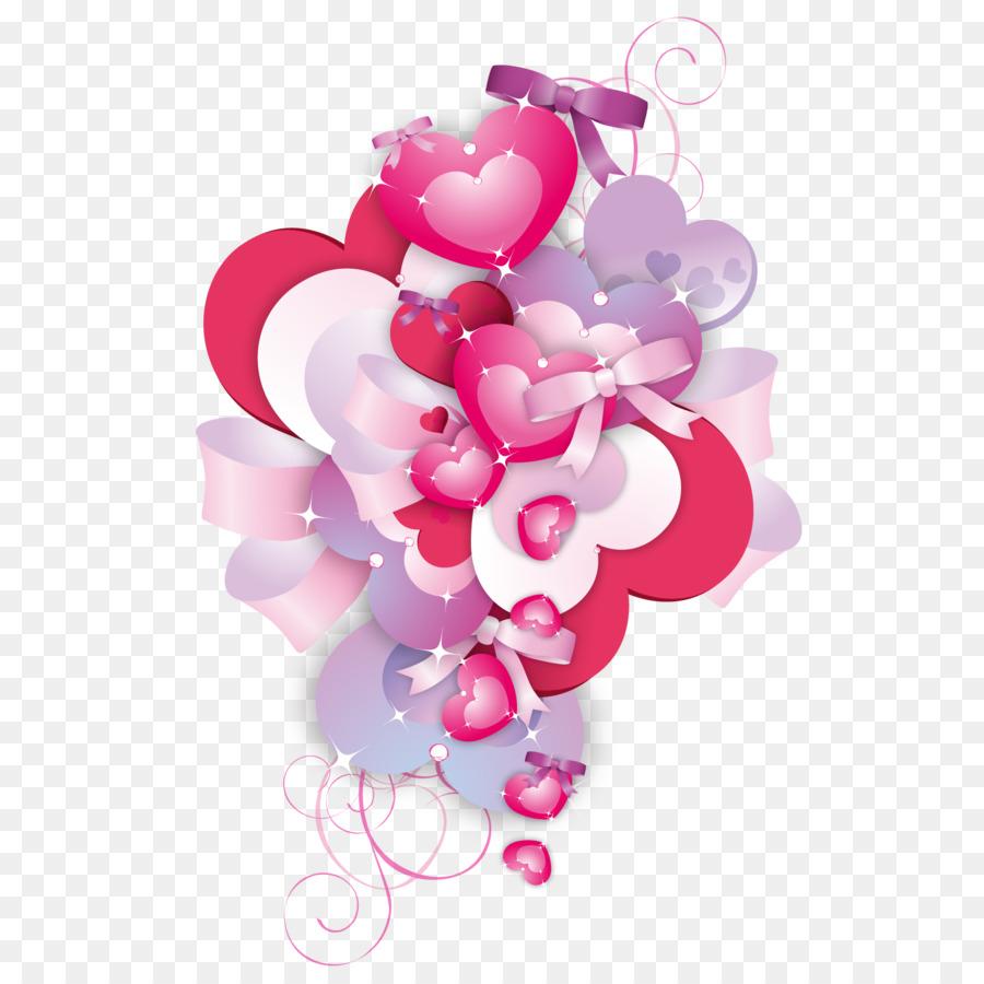 Coeur Fond D Ecran Vecteur Rouge Bouquet De Fleurs Telechargement