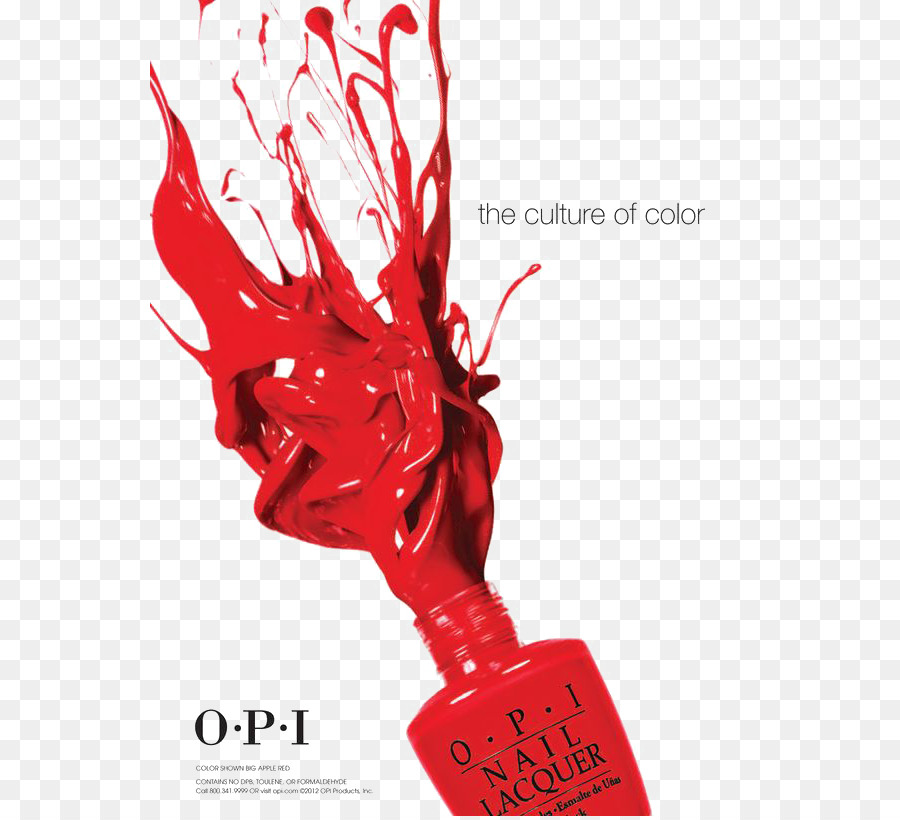 Nail Polish OPI Products Poster Manicure