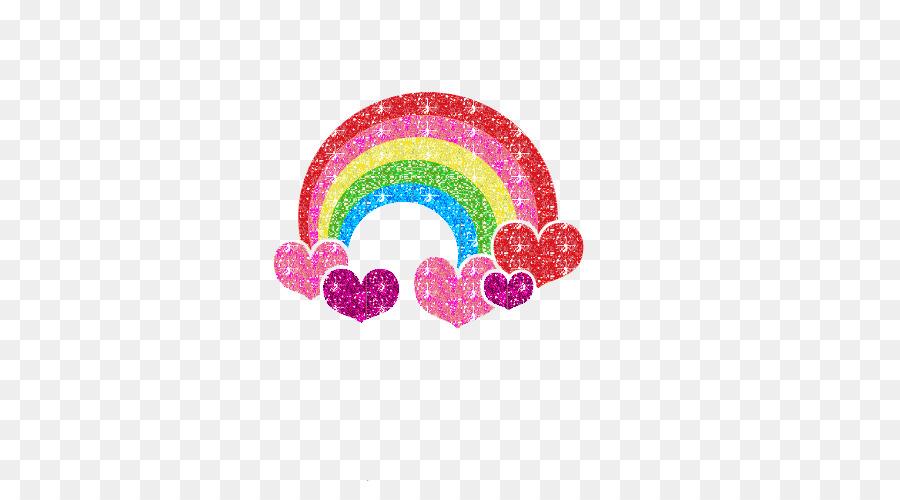 Chinese Zodiac Heart Child Animation Beautiful Rainbow Png