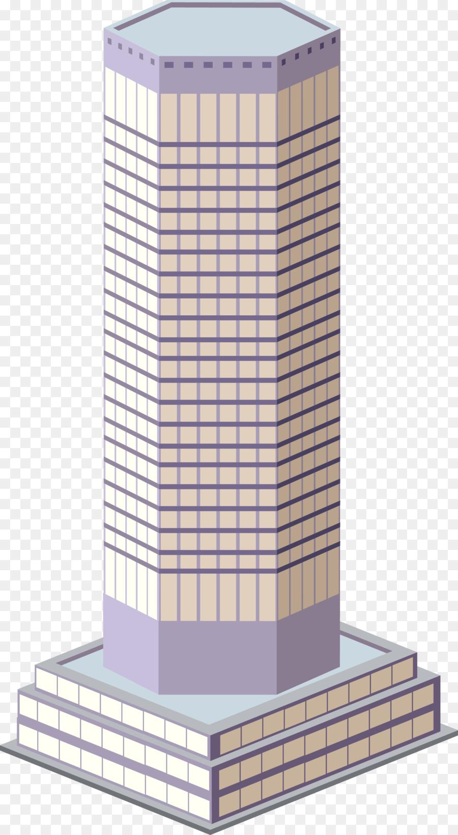 Skyscraper Building Office Drawing