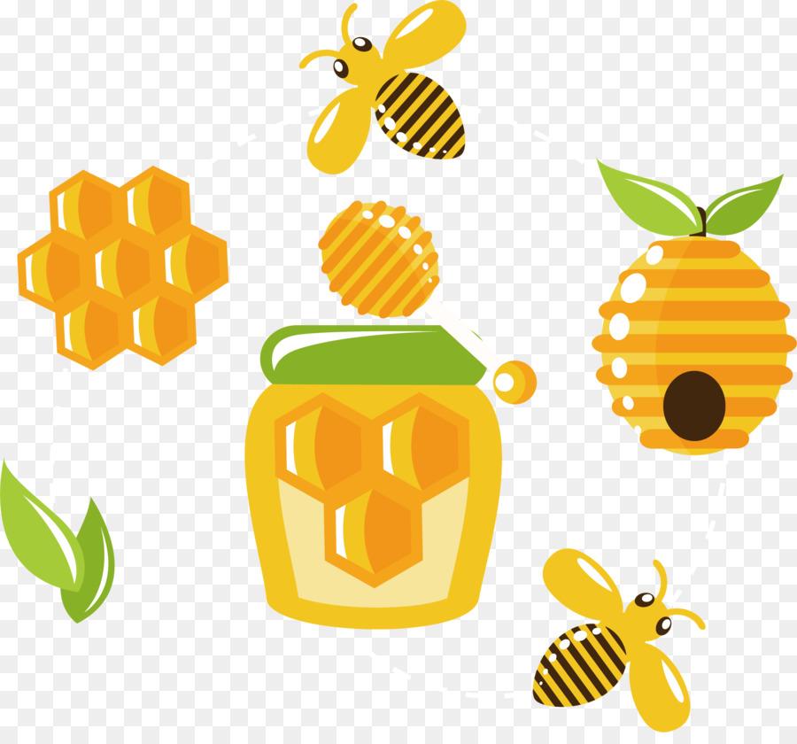 Beehive Honey Bee Honeycomb