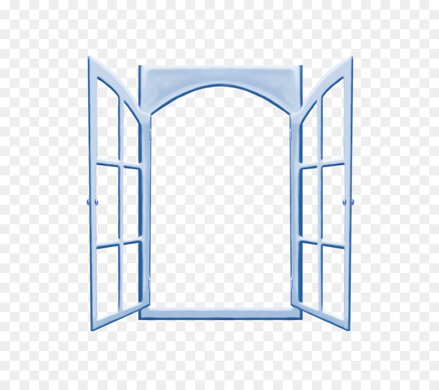 Microsoft Windows Vidrio Icono - Azul cristal de las ventanas ...