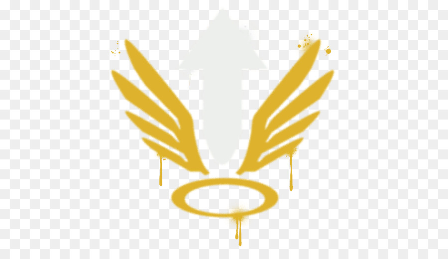 Overwatch Playstation 4 Mercy Aerosol Spray Tracer Wings And A