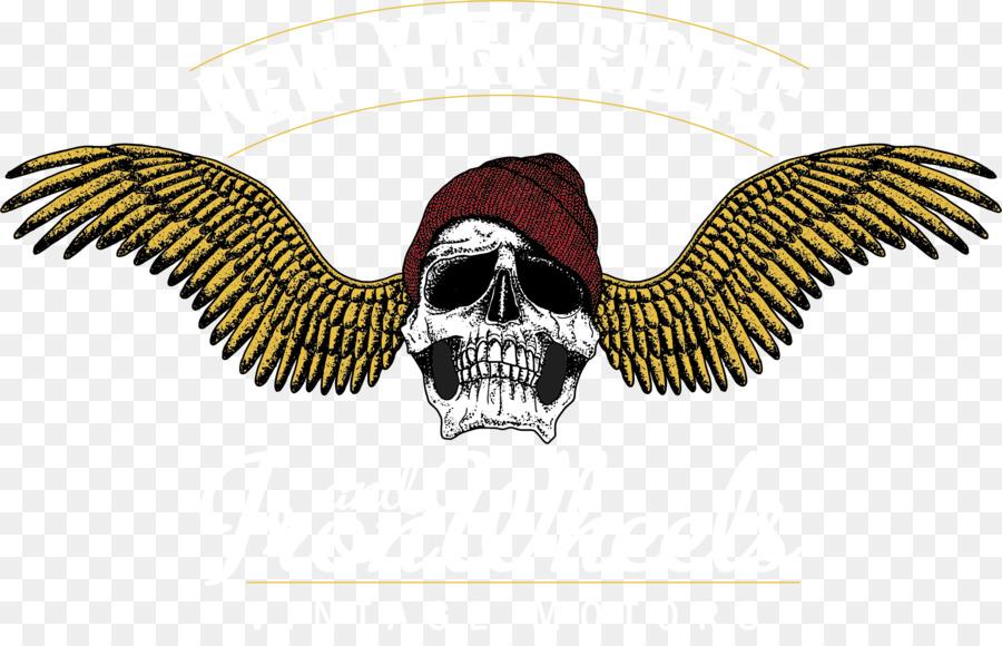 Cráneo De Ilustración - Esqueleto ala vector png dibujo ...