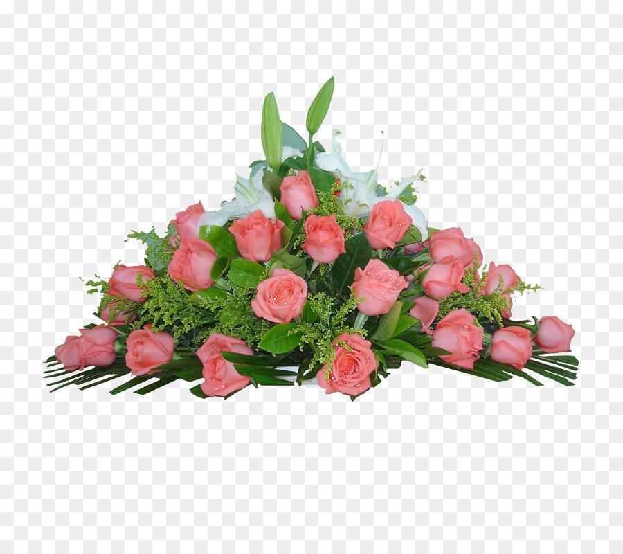 Garden roses Beach rose Floral design Flower bouquet - Pink roses ...