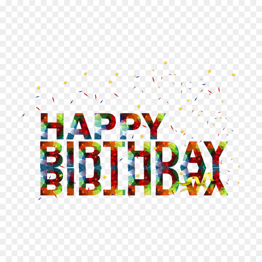 Happy Birthday To You Greeting Card Happy Birthday English Font