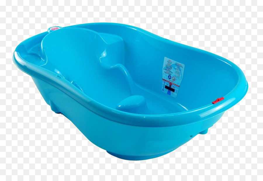 Bathtub Infant Bathing Child Plastic - Blue plastic bathtub png ...