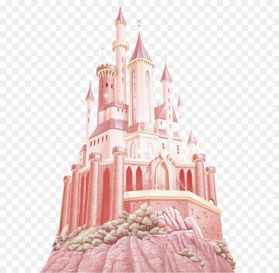 princess aurora rapunzel cinderella wall decal disney princess brown atmosphere castle decoration pattern