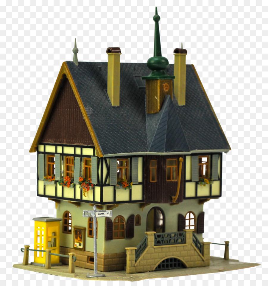 3D Computer Graphics House 3D Modeling   Retro Castle