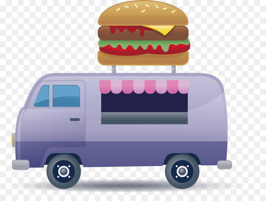 Hamburger Cartoon png download - 4127*3089 - Free