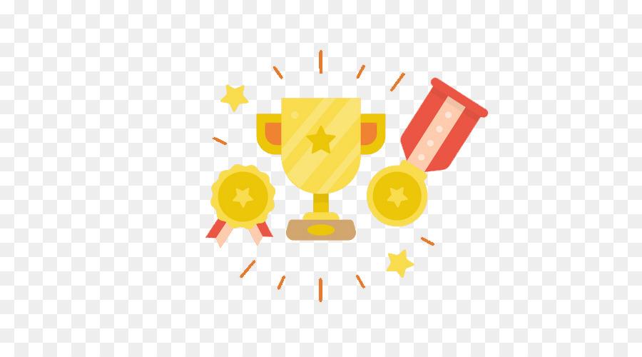 Vector Trofeo medalla de Oro - Trofeo De Oro Formatos De Archivo De ...