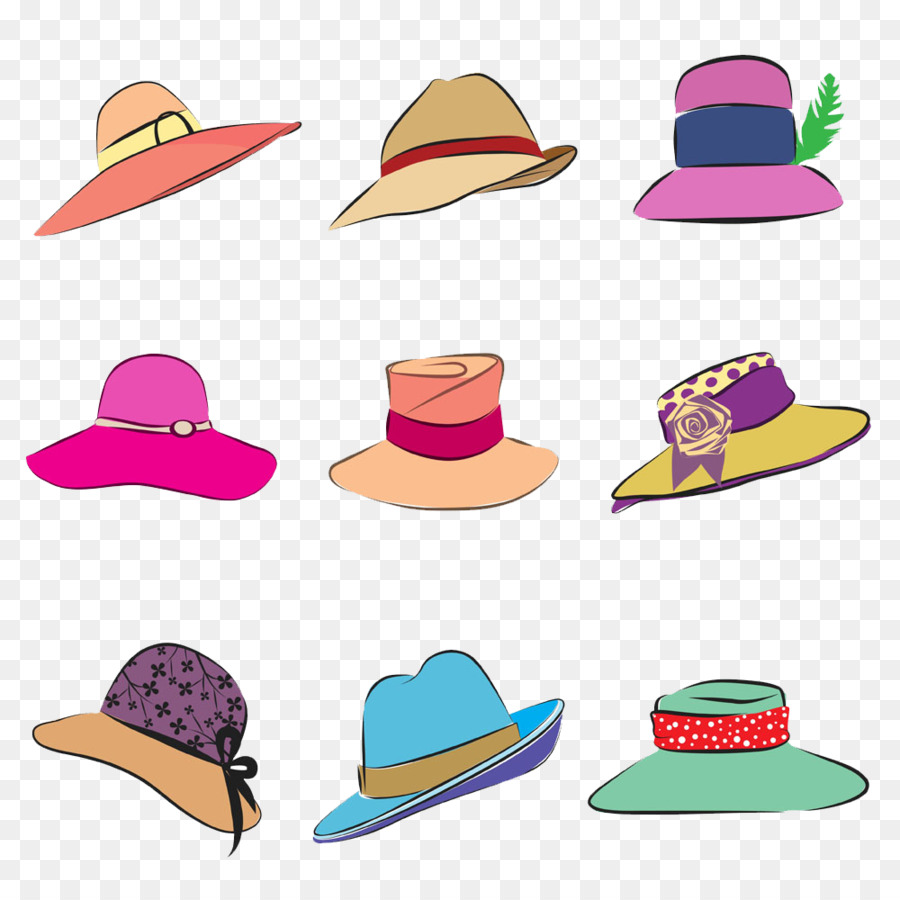 The Kentucky Derby Bowler hat Royalty-free Clip art - Color cartoon ...