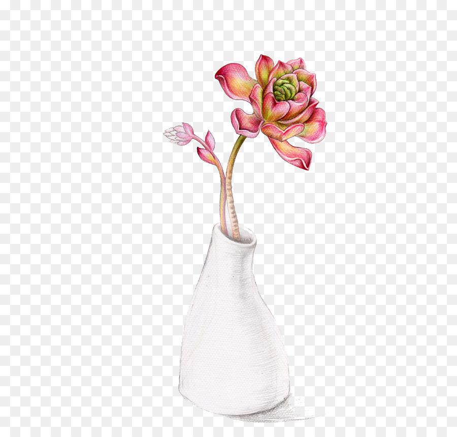 Soil Succulent Plant Vase Euclidean Vector Hand Painted Vases Png