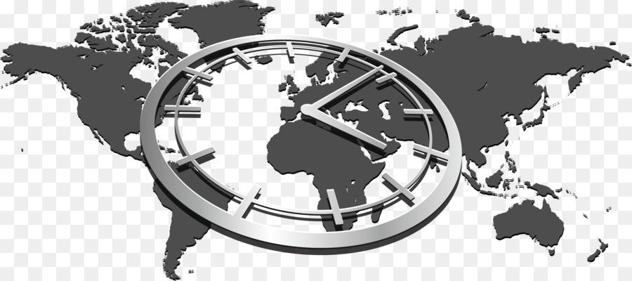 World map globe world clock world map png download 1200*1200.