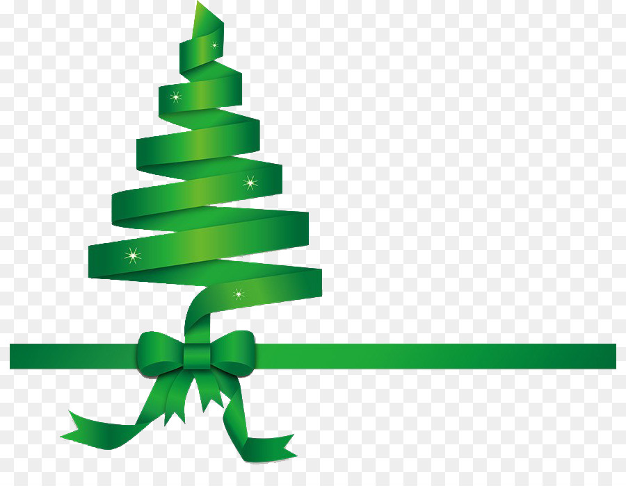 Christmas tree ribbon. Png download free transparent