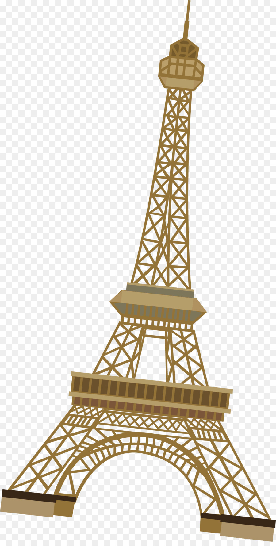 Eiffel Tower Euclidean Vector Paris Tower Vector Png