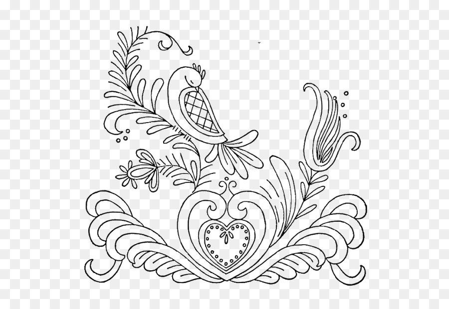 Bordado De Dibujo Appliquxe9 Quilling Patrón - Aves de Antigüedades ...