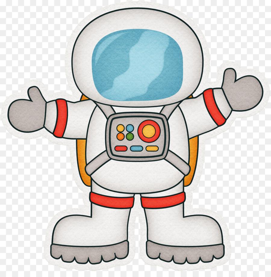 Astronaut Cartoon Outer space Clip art - Pretty cartoon ...