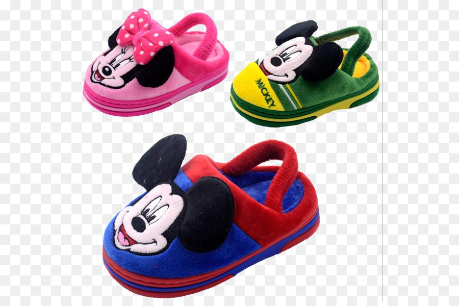 d516a5b1d1e20 Slipper Mickey Mouse Minnie Mouse The Walt Disney Company Shoe ...