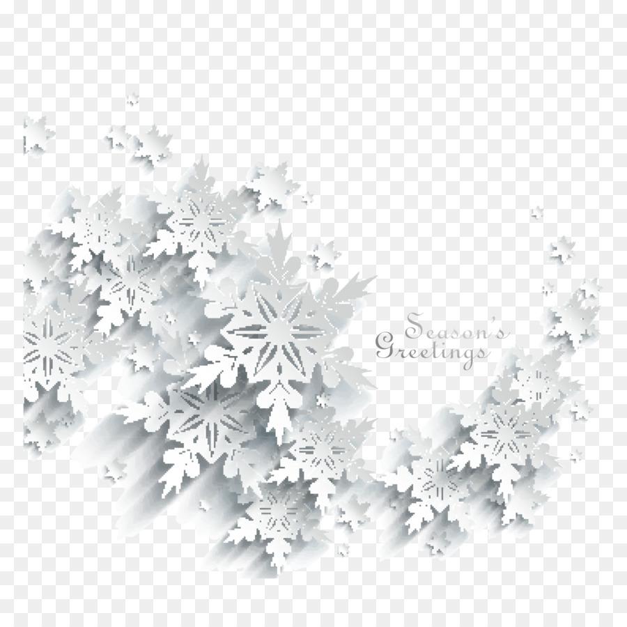 Fiocco Di Neve Bianco Ritagliare Paper Cut Fiocchi Di Neve Vento