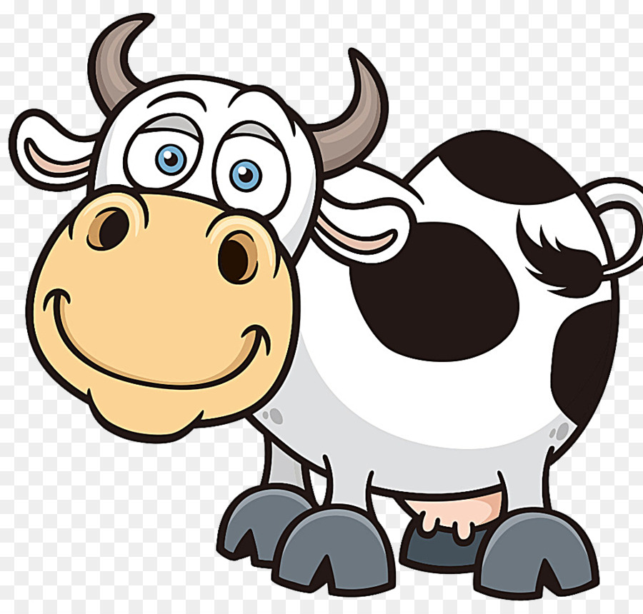 Cattle Cartoon Royalty Free Clip Art Dairy Cow Png Download 994