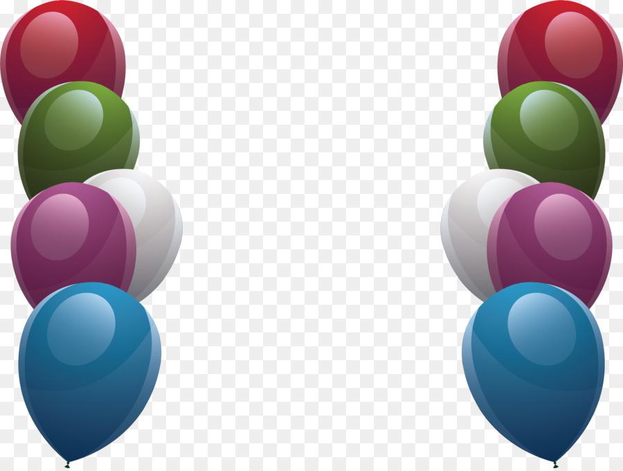 Globo De Diseñador - Fina de color globo fronteras Formatos De ...