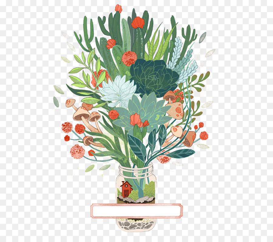Drawing Printmaking Art Watercolor Painting Illustration Vase