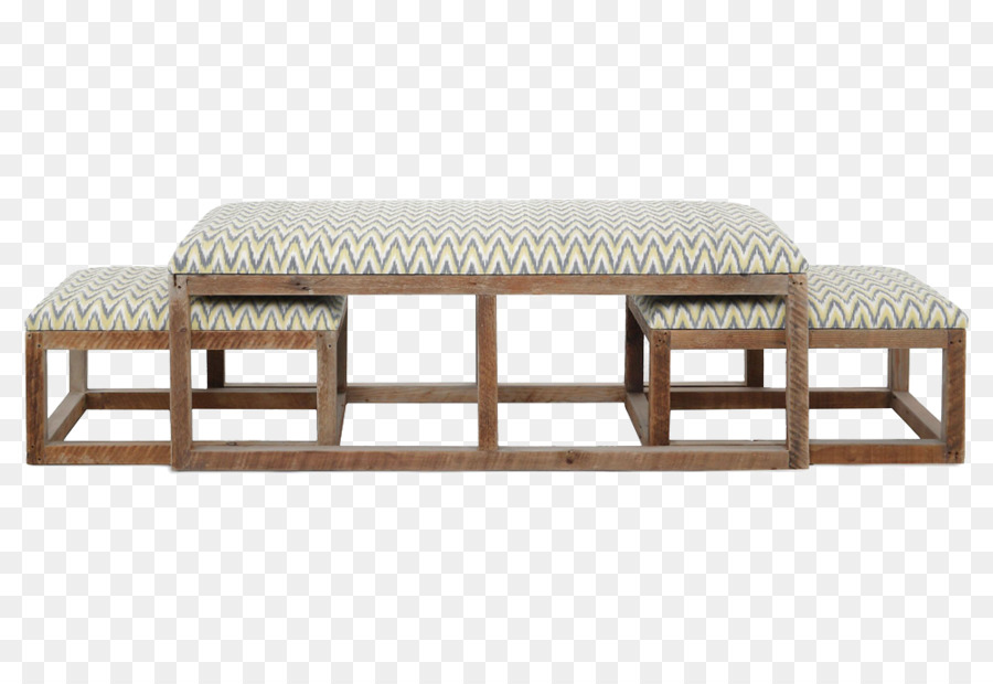 Coffee Table Ottoman Living Room Furniture   Classic Wood Bed End Stool  Cloth