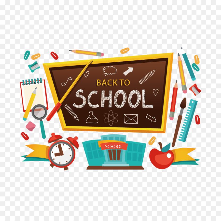 Student School Clip art - Vector blackboard and school ...