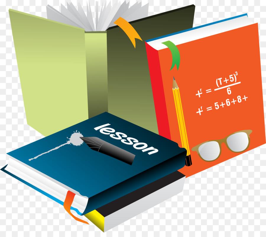 Euclidean vector Mathematics - Book collection vector png download ...