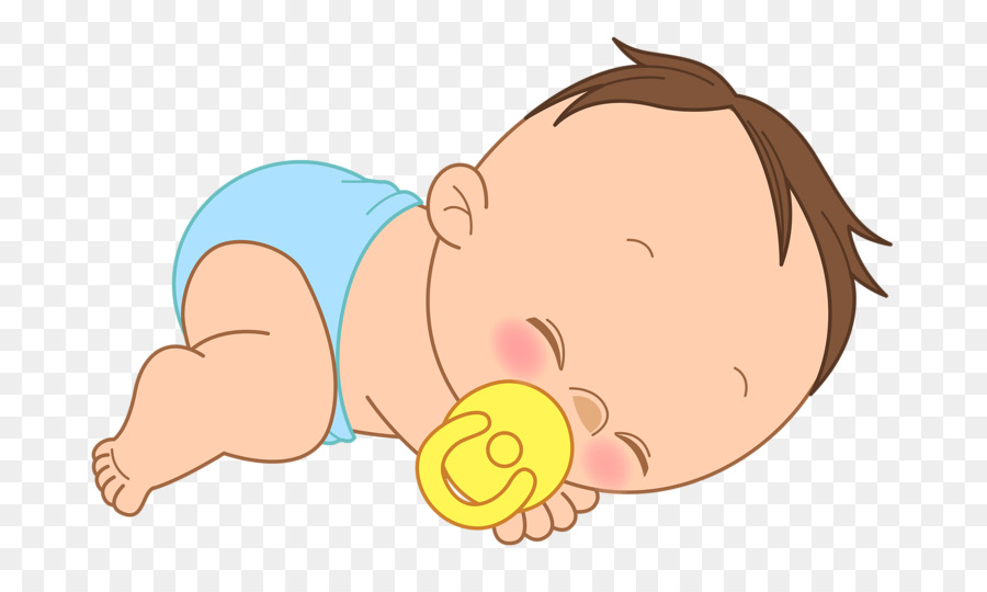 Child Infant Drawing Clip art - Sleeping baby png download ...