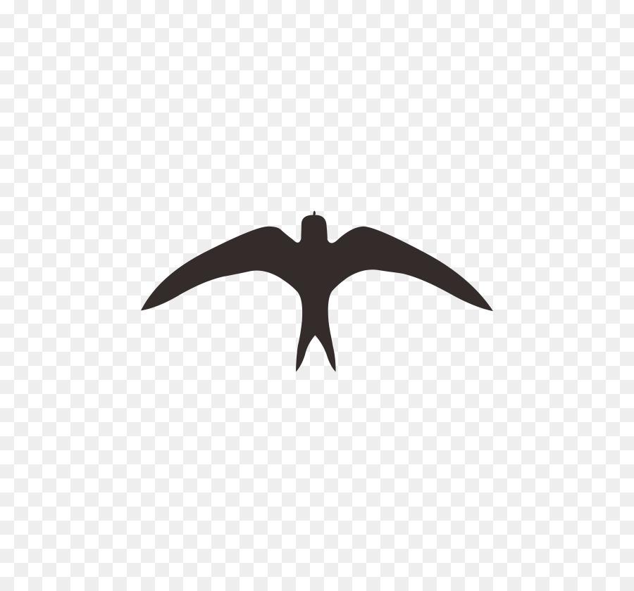Tragar Logotipo en blanco y Negro Patrón - Aves png dibujo ...